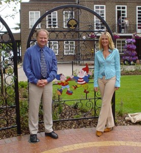 Goodger Landscape Garden Art, 'Noddy and Big Ears', Beaconsfield Town Council