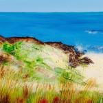 Wexford Beach, Ireland Seascape Art
