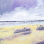 Seascapes in oil paint Curracloe Beach Ireland