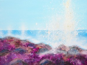 Marbella Beach Seascape Painting