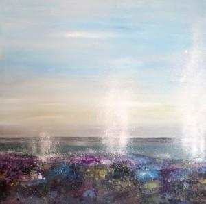 Beach Splash Series - oil on canvas