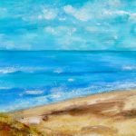 Seascape - Mixed Media on paper