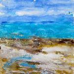 Contemporary Abstract Seascape