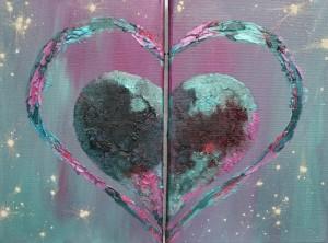 Heart within a heart LoveHug