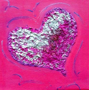 Baby Pink LoveHug LoveHug - Heart Painting