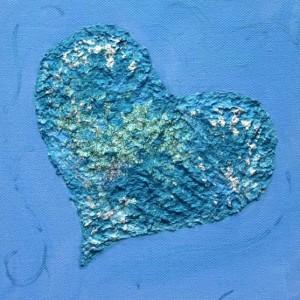 Baby Blue LoveHug LoveHug - Heart Painting