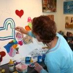 Painting more hearts