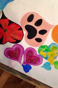 Hearts4Eve Heart Art Appeal