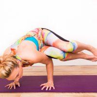 My abstract artwork meets ILU Fitwear equals amazing yoga clothing range !!