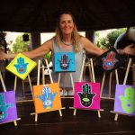 Hamsa Art Display