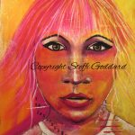 Contemporary Female Faces - I AM INDEPENDENT