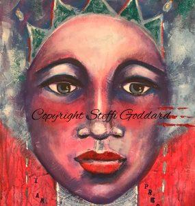 Female Contemporary Faces - I AM PRECIOUS