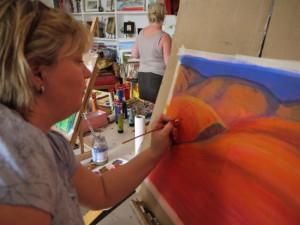 Art Holiday Spain Studio Work