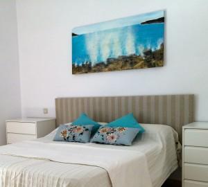 Seasplash Art Seascape in situ - Marbella Apartment