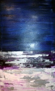 Silver Seas of Kerry - oil on canvas