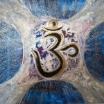 OM Chakra Art Intuitive Art