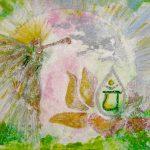 Heart Chakra Art with Angel Gabriel