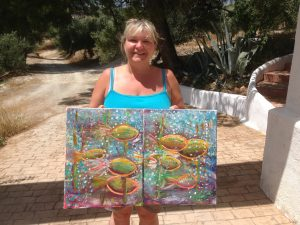 Intuitive process painting workshop