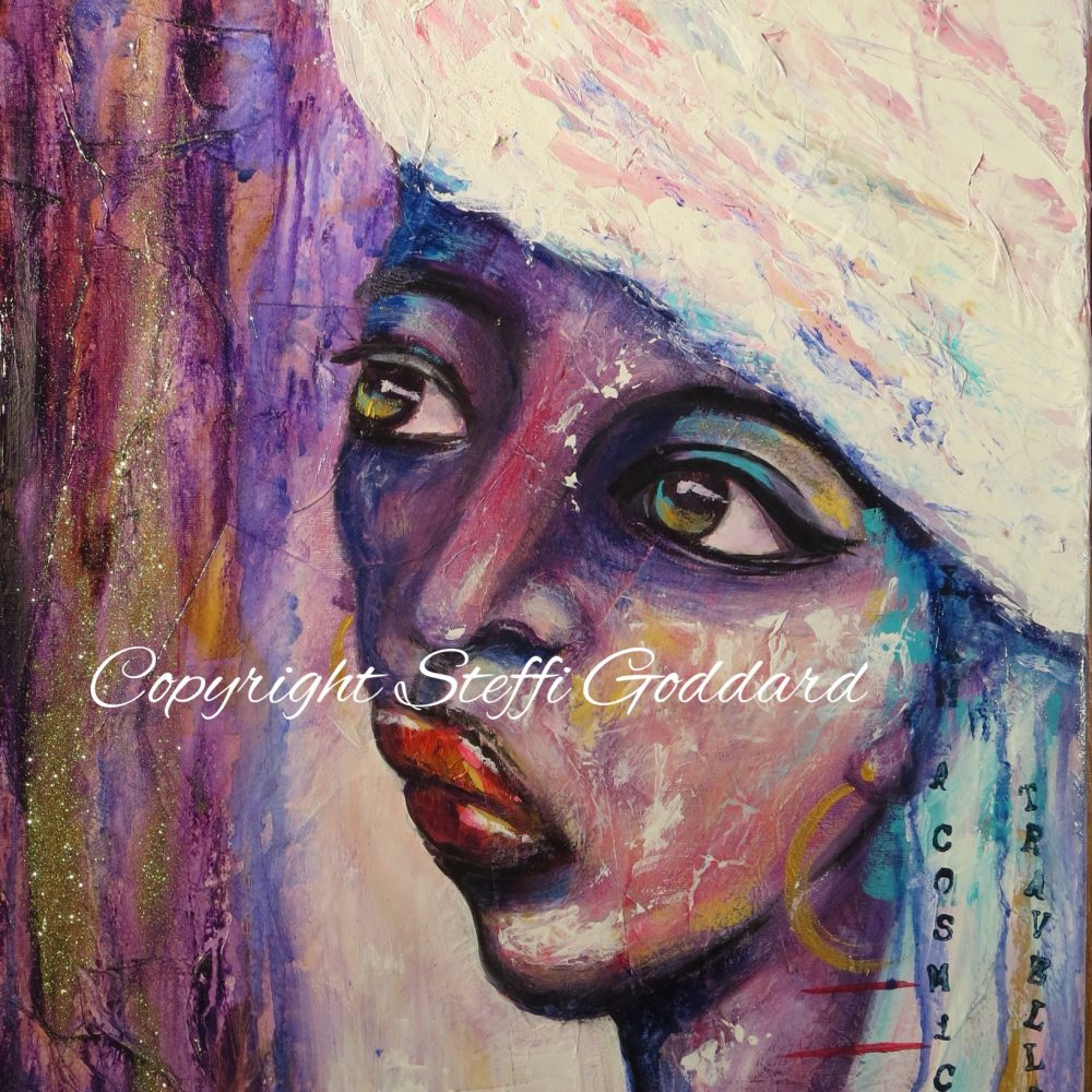 Contemporary Female Face - COSMIC Traveller