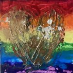 Let's Celebrate - Heart Art
